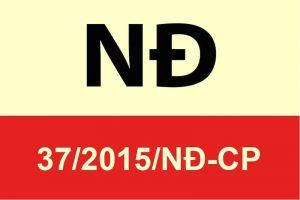 nghị định 37/2015/nđ-cp quy định chi tiết về hợp đồng